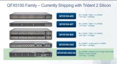 QFX5100 models asic